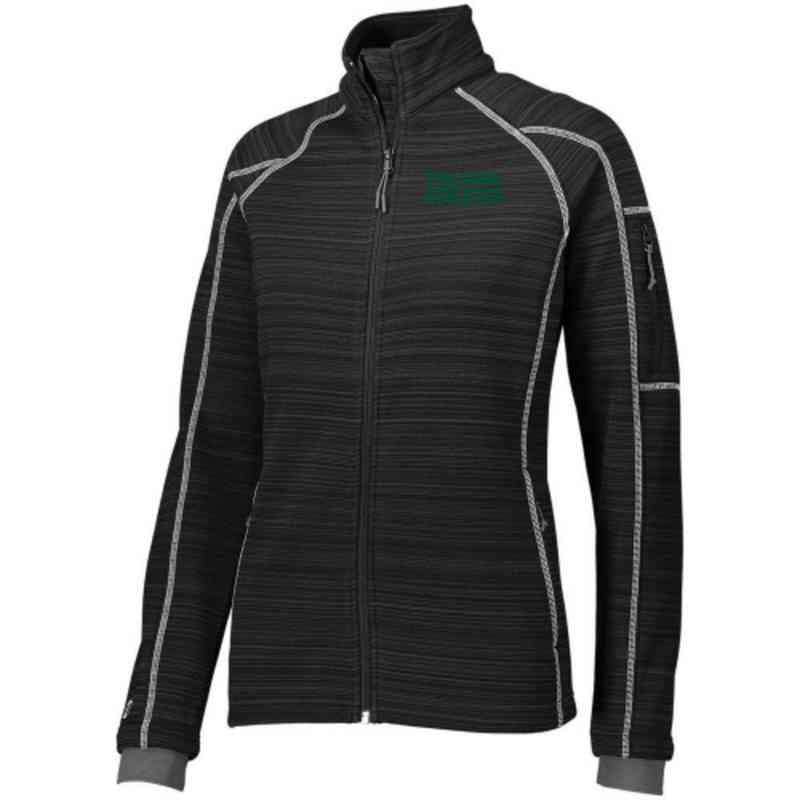 athletics embroidered holloway ladies deviate jacket