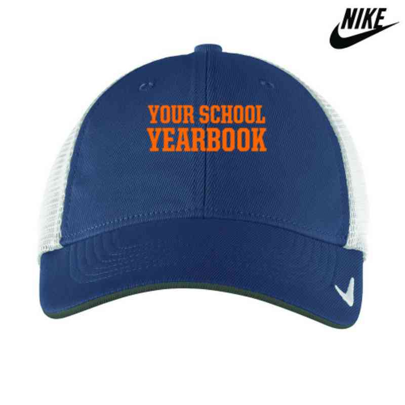 9e603c2bc3c Yearbook Embroidered Nike Golf Mesh Back Cap II