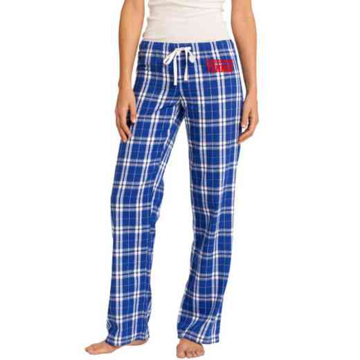 Tennis Embroidered Juniors Flannel Pant