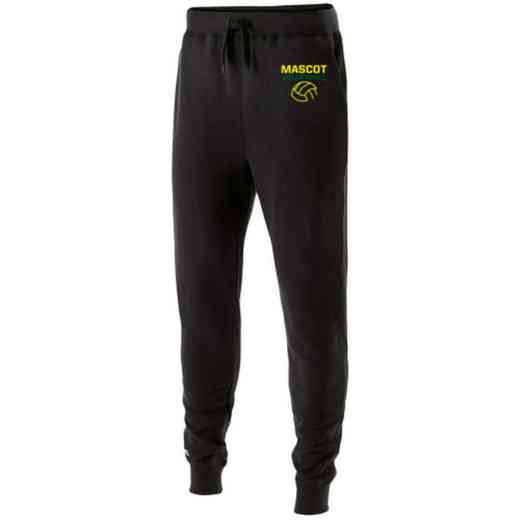 Volleyball  Embroidered Holloway Fleece Jogger