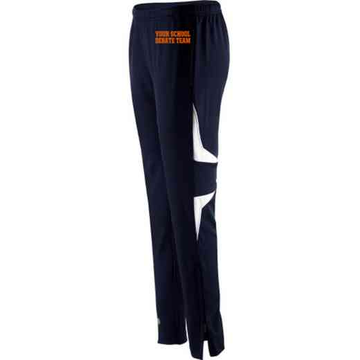 Debate Team Embroidered Holloway Ladies Traction Pant