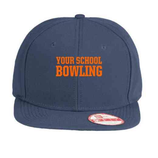 Bowling New Era Original Fit Flat Bill Snapback