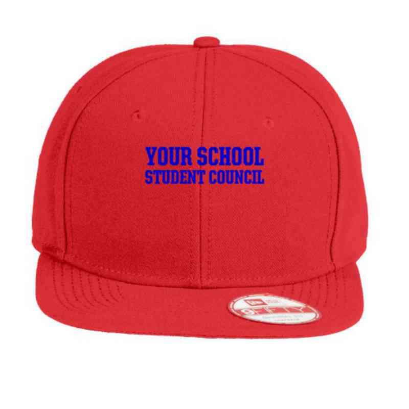 baa5e358ba4a8 Student Council New Era Original Fit Flat Bill Snapback
