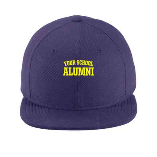 Alumni New Era Flat Bill Snapback Cap
