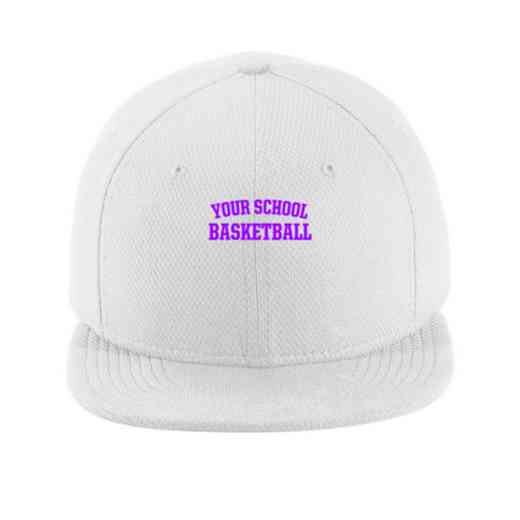 Basketball New Era Flat Bill Snapback Cap