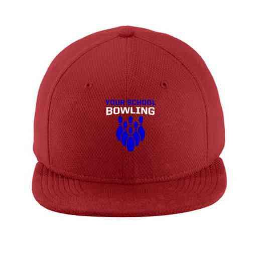 Bowling New Era Flat Bill Snapback Cap