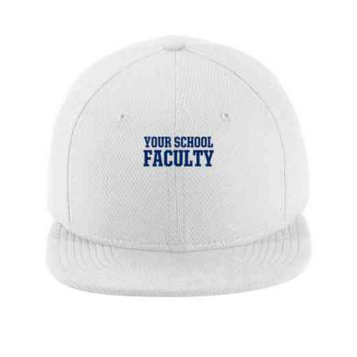 Faculty New Era Flat Bill Snapback Cap