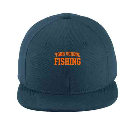 Fishing New Era Flat Bill Snapback Cap
