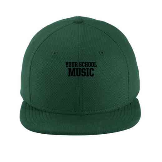 Music New Era Flat Bill Snapback Cap