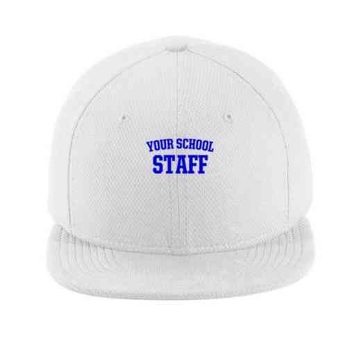 Staff New Era Flat Bill Snapback Cap