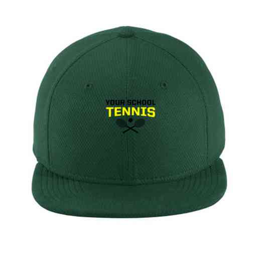 Tennis New Era Flat Bill Snapback Cap