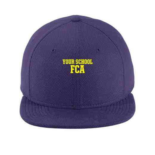 FCA New Era Flat Bill Snapback Cap