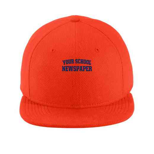 Newspaper New Era Flat Bill Snapback Cap