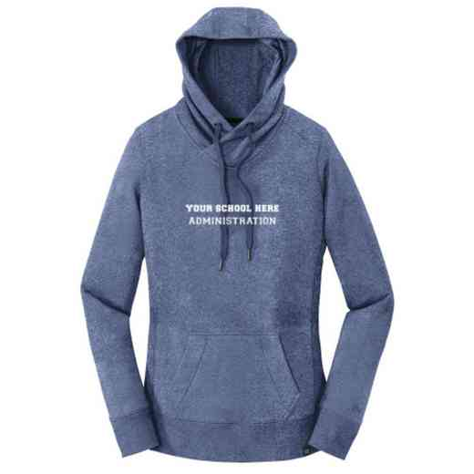 Administration New Era Ladies French Terry Hooded Sweatshirt