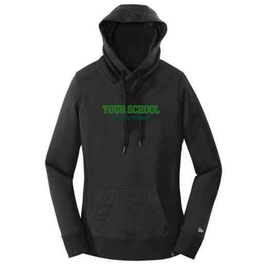 Athletic Trainer New Era Ladies French Terry Hooded Sweatshirt
