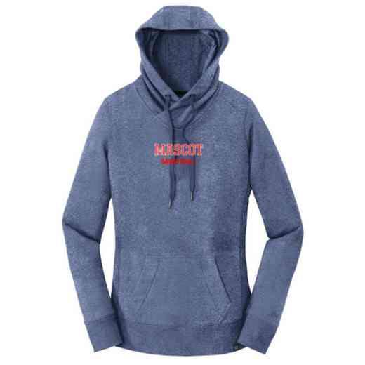 Basketball New Era Ladies French Terry Hooded Sweatshirt