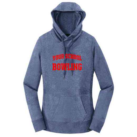 Bowling New Era Ladies French Terry Hooded Sweatshirt