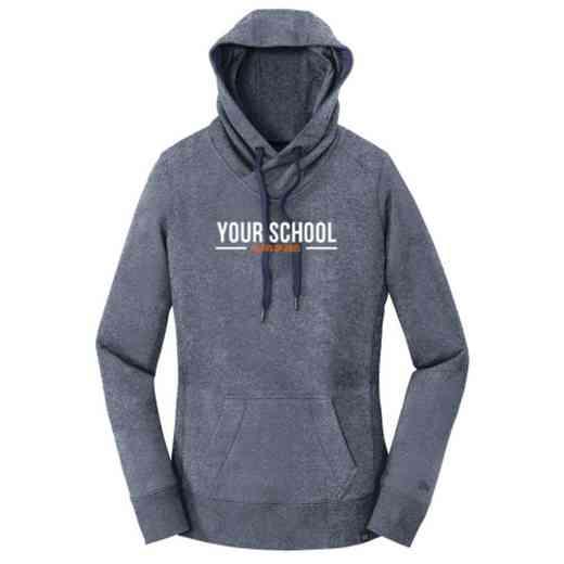 "Class of """" New Era Ladies French Terry Hooded Sweatshirt"