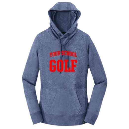 Golf New Era Ladies French Terry Hooded Sweatshirt