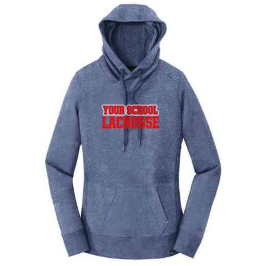 Lacrosse New Era Ladies French Terry Hooded Sweatshirt