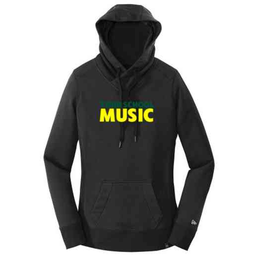 Music New Era Ladies French Terry Hooded Sweatshirt