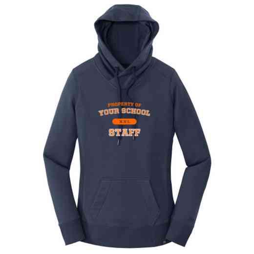 Staff New Era Ladies French Terry Hooded Sweatshirt
