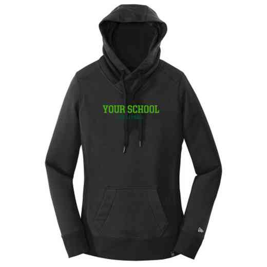 Volleyball  New Era Ladies French Terry Hooded Sweatshirt