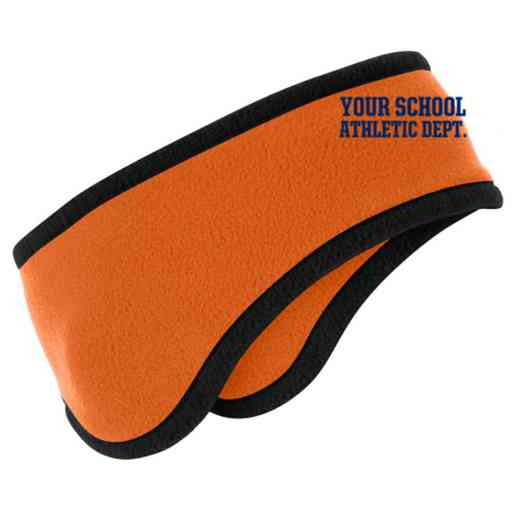 Athletic Department Two-Color Fleece Headband