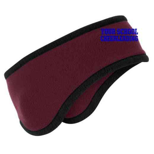Cheerleading Two-Color Fleece Headband