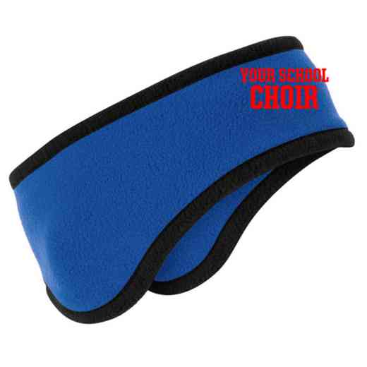 Choir Two-Color Fleece Headband