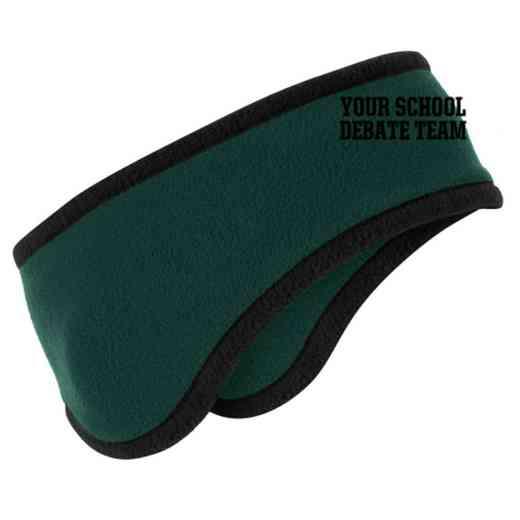 Debate Team Two-Color Fleece Headband