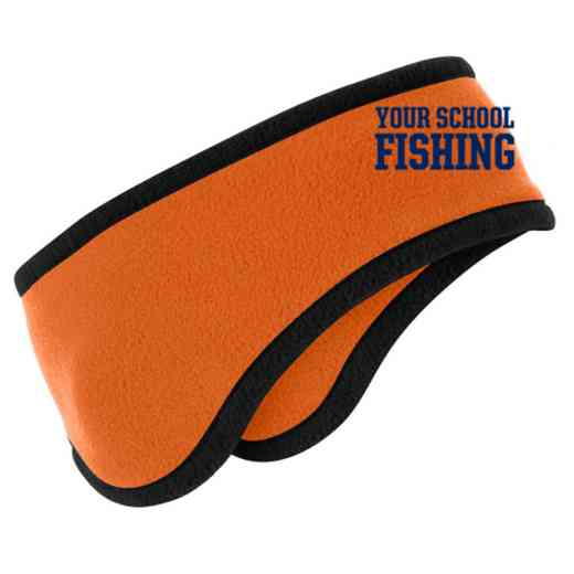 Fishing Two-Color Fleece Headband