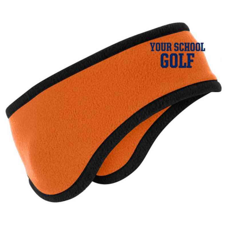 Golf Two-Color Fleece Headband