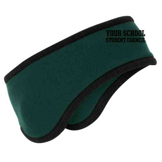 Student Council Two-Color Fleece Headband