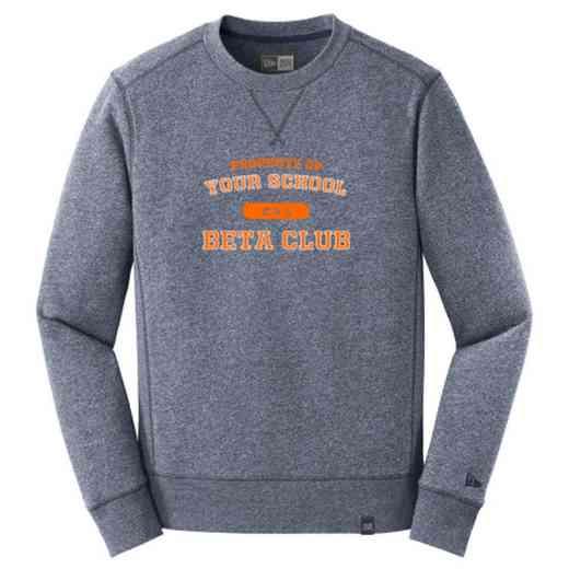 Beta Club New Era French Terry Crew Neck Sweatshirt