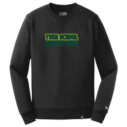 Debate Team New Era French Terry Crew Neck Sweatshirt