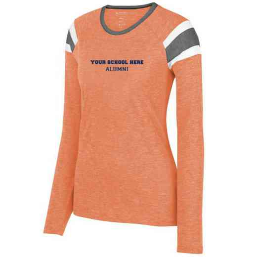 Alumni Ladies Long Sleeve Fanatic T-Shirt