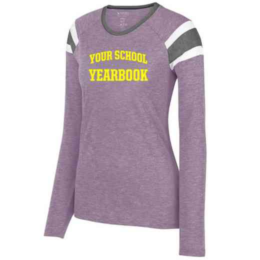 Yearbook Ladies Long Sleeve Fanatic T-Shirt