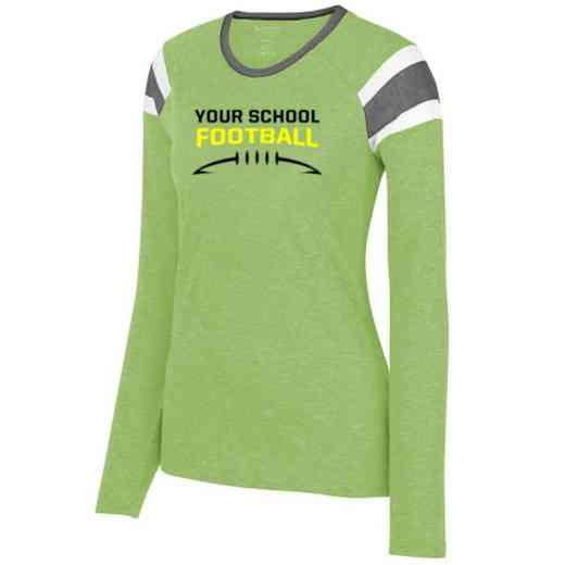 Football Ladies Long Sleeve Fanatic T-Shirt