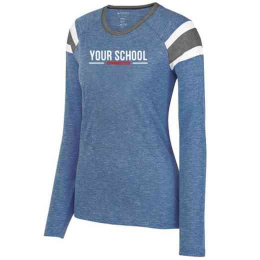 Gymnastics Ladies Long Sleeve Fanatic T-Shirt
