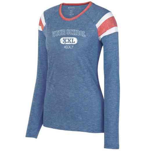 Hockey Ladies Long Sleeve Fanatic T-Shirt
