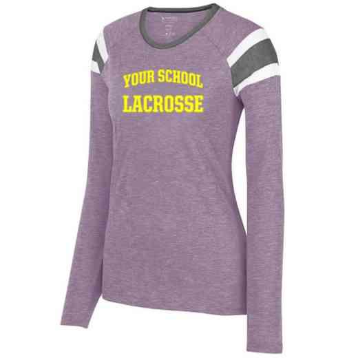 Lacrosse Ladies Long Sleeve Fanatic T-Shirt