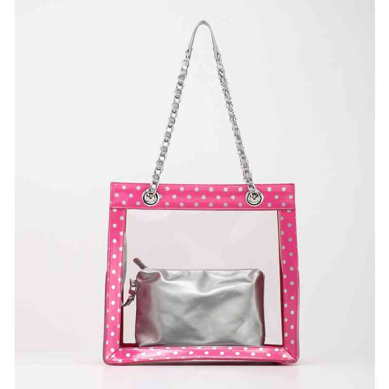 H150330-17-APK-S: Andrea Clear Tailgate Tote APK-S