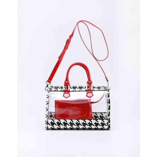 H160426-11-HT-RR: Moniqua Clear Satchel HT-RR