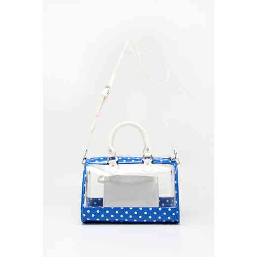 H160426-11-IMPBLU-W: Moniqua Clear Satchel IMPBLU-W