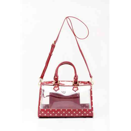 H160426-11-M-GO: Moniqua Clear Satchel M-GO