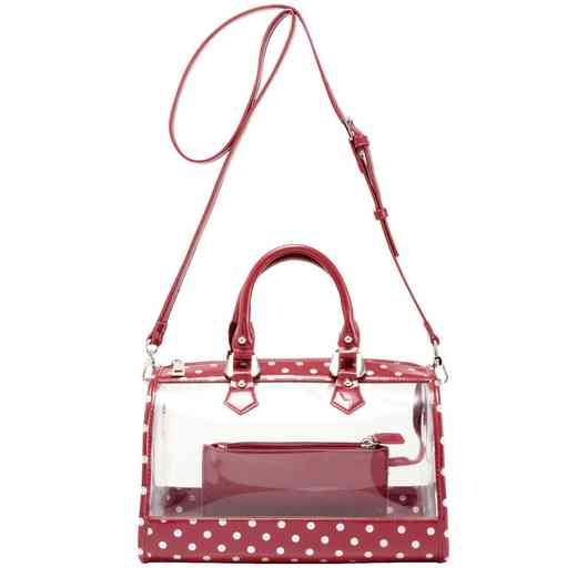 H160426-11-M-S: Moniqua Clear Satchel M-S