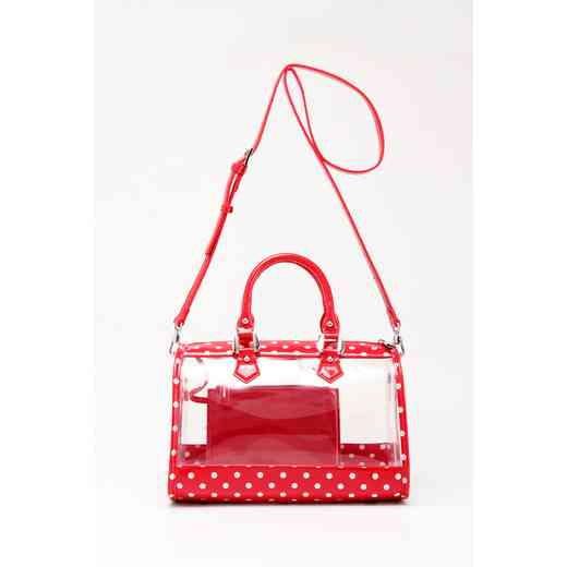 H160426-11-RR-W: Moniqua Clear Satchel RR-W