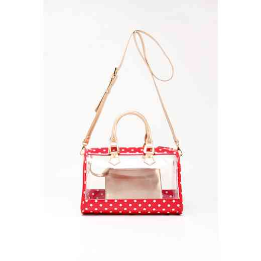 H160426-11-RR-W-GO: Moniqua Clear Satchel RR-W-GO