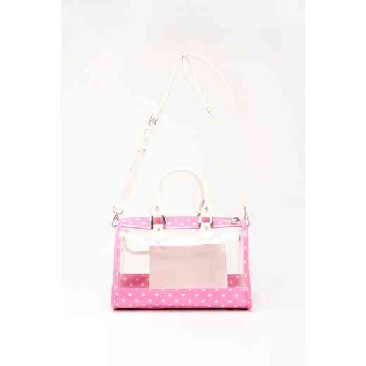 H160426-11-APK-W: Moniqua Clear Satchel APK-W